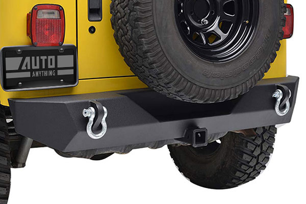 proz premium rock crawler jeep rear bumper