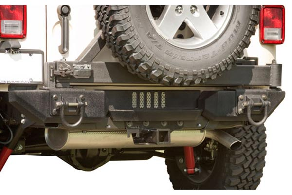 rugged ridge xhd aluminum rear bumper system