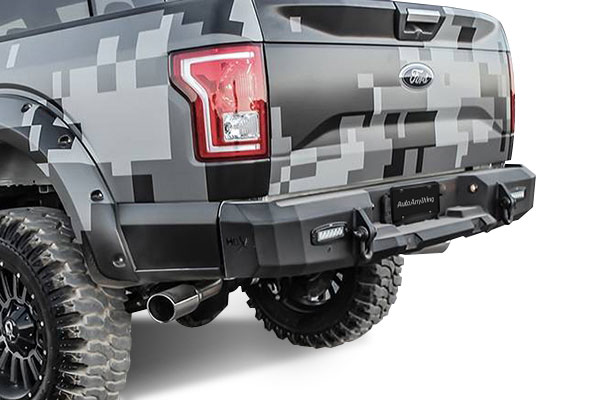 Westin HDX Rear Bumper - FREE SHIPPING on Westin!