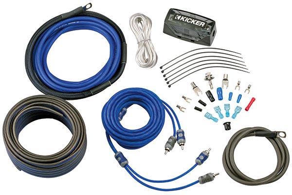 kicker c series complete amp install kit