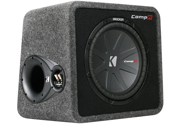 kicker comp r loaded enclosures