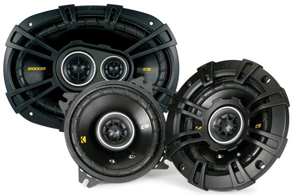 kicker cs series coaxial speakers