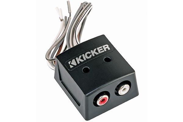 kicker k series speaker to rca converters