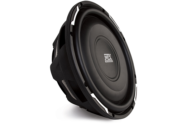 mtx flat piston shallow mount subwoofer
