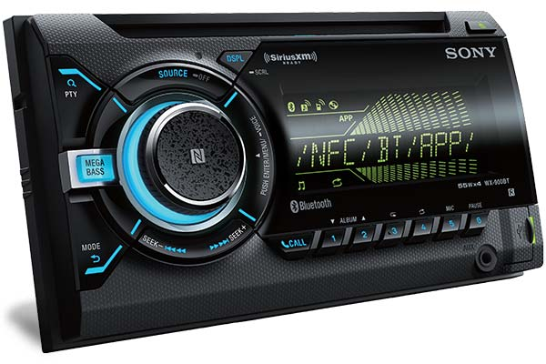 Sony WX Series In-dash Stereo Receiver