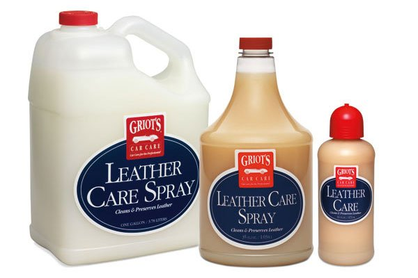 griots garage leather care