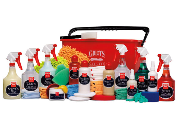 griots garage master car care collection bucket