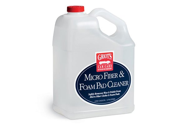 griots garage microfiber and foam pad cleaner 1 gallon