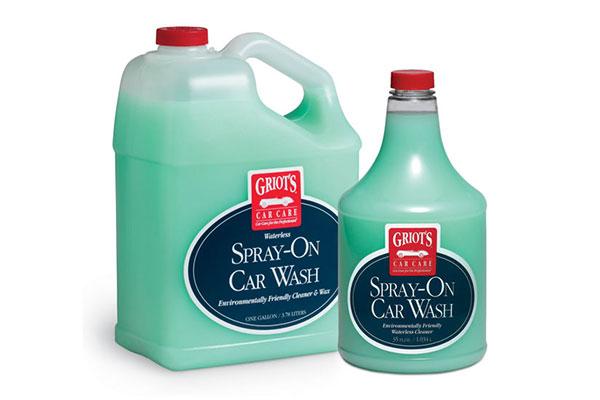 griots garage spray on waterless car wash