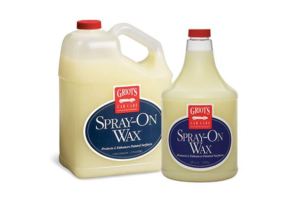 griots garage spray on wax
