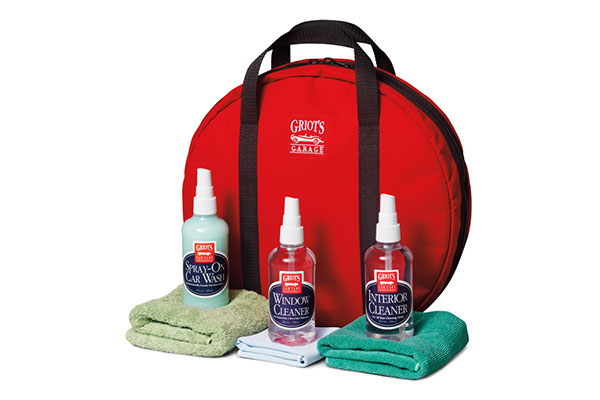 Griot's Garage Traveling Car Care Kit