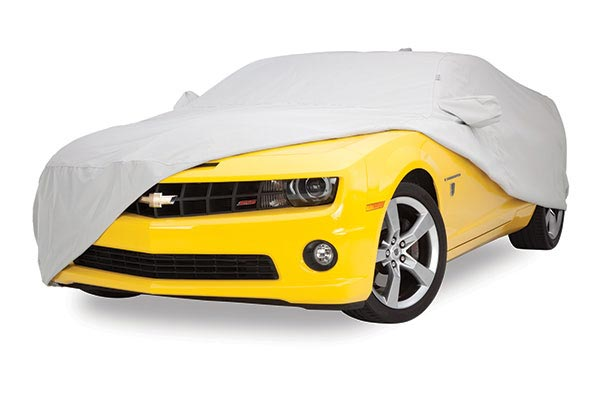 covercraft HD carcover yellow camaro