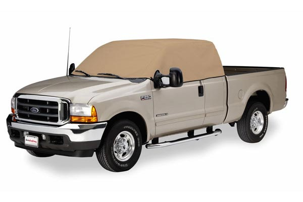 covercraft cab only f250 tan flannel tan
