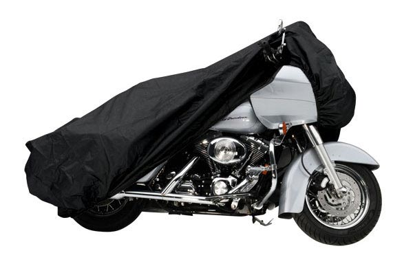 Covercraft Custom-Fit Harley Davidson Motorcycle Covers XM157BF Cruiser without sissy bar; with a windshield