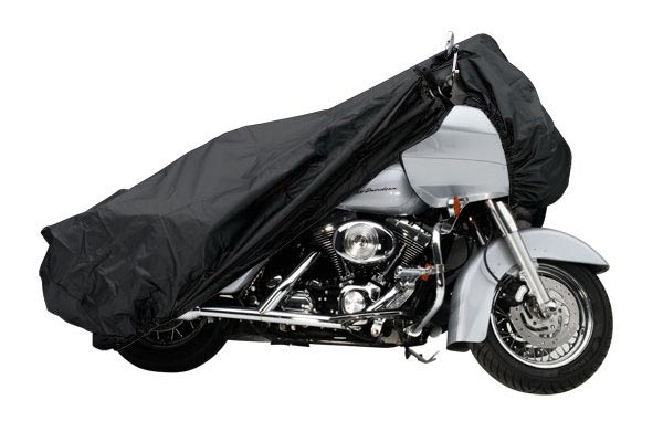 Covercraft Custom-Fit Harley Davidson Motorcycle Covers XM156BU Cruiser with sissy bar; without windshield