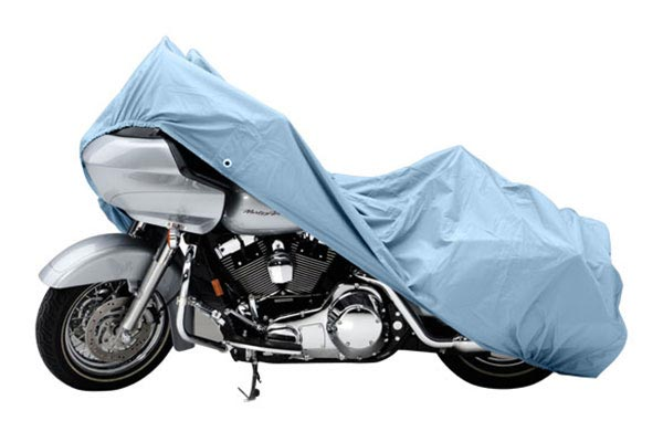 Covercraft Custom Pack Lite Harley Davidson Motorcycle Covers XN151PL Cruiser without sissy bar or windshield