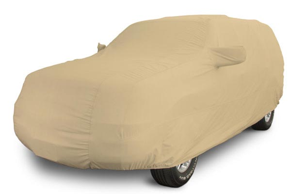 covercraft tan flannel cab high car cover