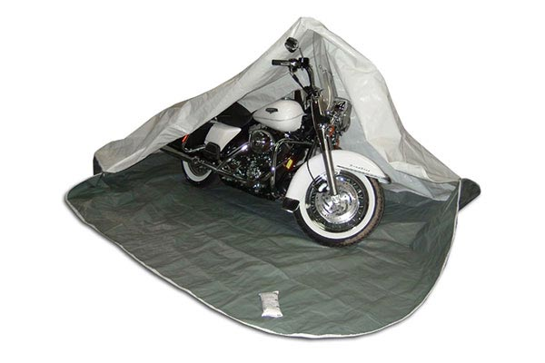 sc 1 st  AutoAnything & Motorcycle Covers Rhino Shelter Motorcycle Storage Bag