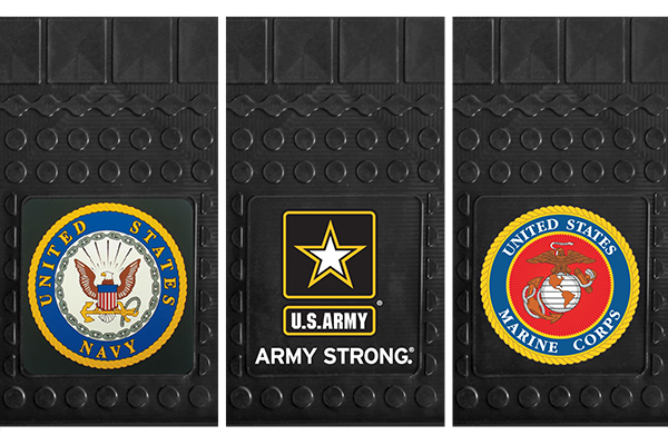 fanmats military cargo mats