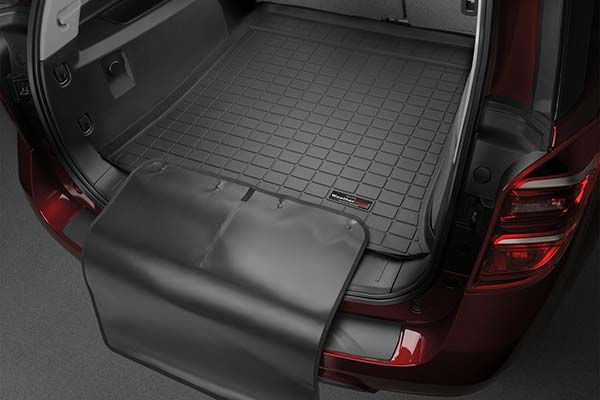 WeatherTech Custom Fit Cargo Liners for Hummer H3 Black 40299