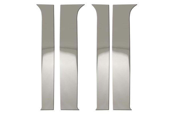 bully stainless steel pillar post trim