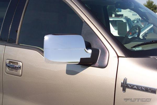 putco chrome mirror covers