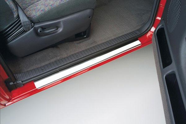 putco stainless steel door sills