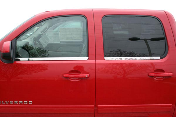 putco stainless steel window sill trim