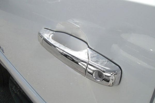 ses chrome trim door handles
