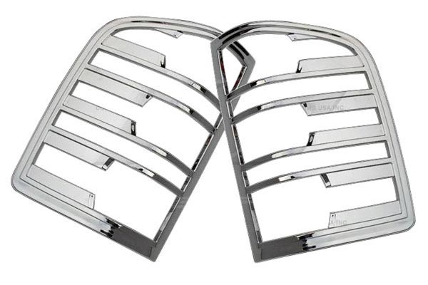 ses chrome trim tail light covers