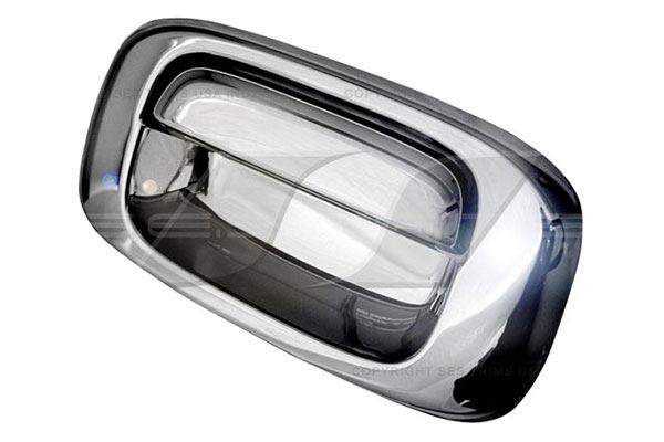 ses chrome trim tailgate handles