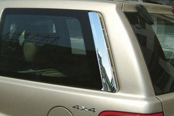 wellstar chrome pillar covers