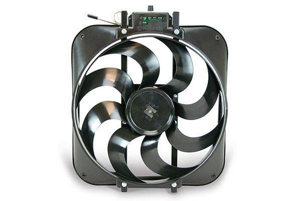 Flex-a-lite Black Magic S-blade Universal Electric Cooling Fans p7706