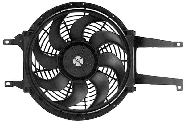 acdelco radiator fan
