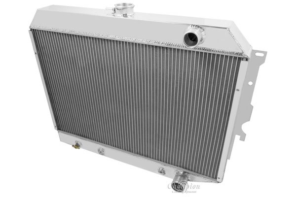 champion cooling aluminum radiator