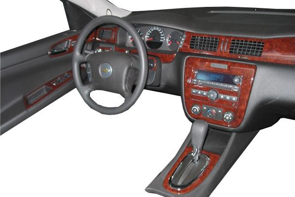 2015 Ford Explorer B&I Dash Kits WD1020D-BLACK Complete Kit 4134-WD1020D-BLACK