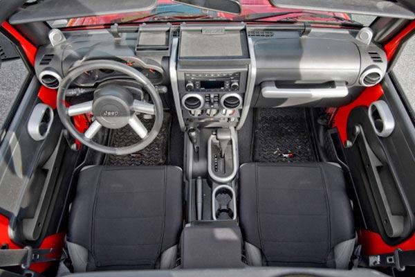 rugged ridge interior dash and trim kit