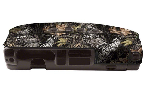 coverking mossyoak camo velour dashboard cover break up 8315