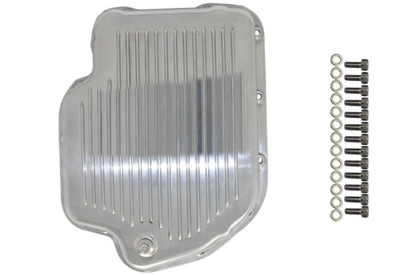 proz finned aluminum transmission pans