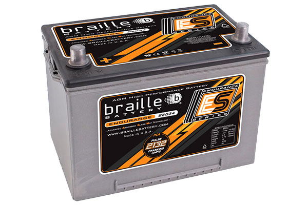 braille endurance Batteries 4445