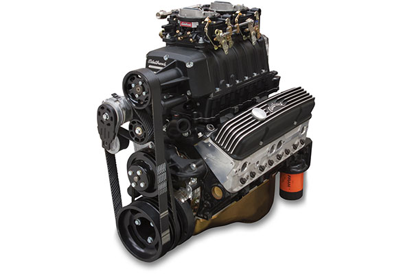 edelbrock e force enforcer supercharged crate engine  2