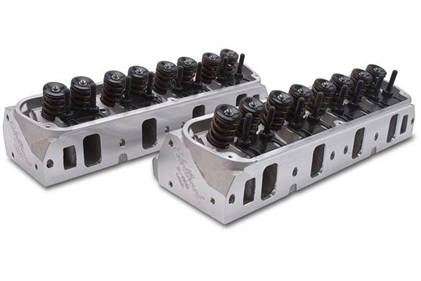 edelbrock e series cylinder heads
