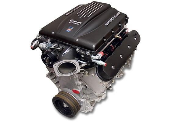 edelbrock gm ls 416 crate engine  2