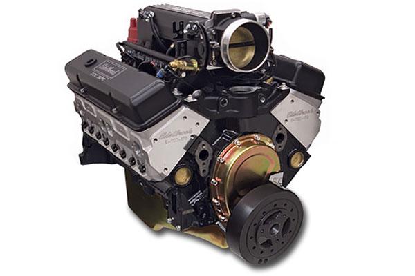 edelbrock performer rpm e tec pro flo xt efi crate engine  2