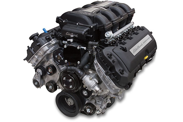 edelbrock supercharged 5 0l coyote crate engine  2