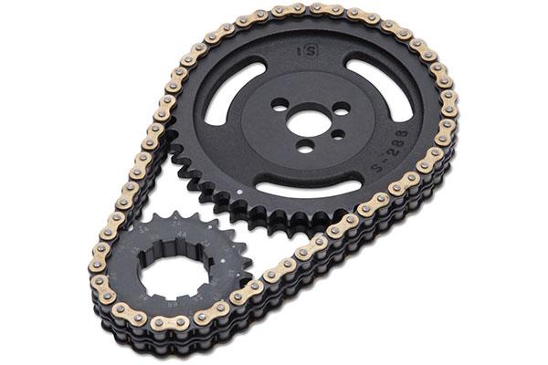 edelbrock victor link timing chain set