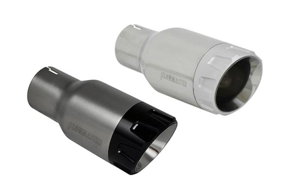 flowmaster round angle cut aluminum tip