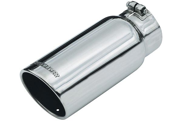 flowmaster round rolled angle cut exhaust tip