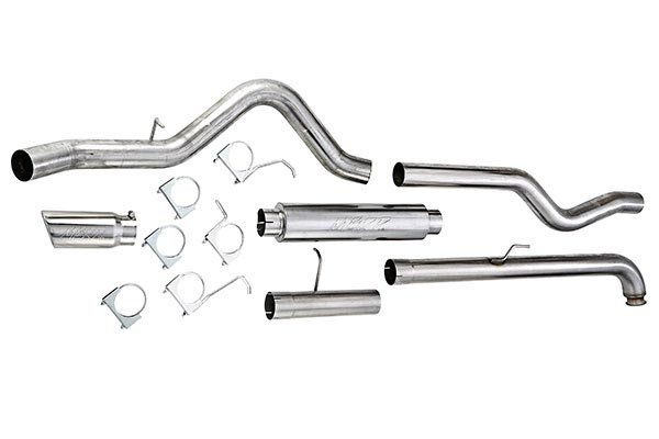 2013 Ford Mustang MBRP Exhaust Systems S7226409 Race Cat-Back Exhaust - Dual Split Rear Exit