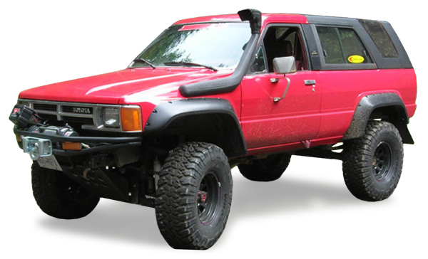 Bushwacker 31009 11 Bushwacker Fender Flares Cut Out